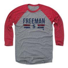 Freddie Freeman Font B Atlanta Officially Licensed MLBPA Baseball T-Shirt Unisex S-3XL