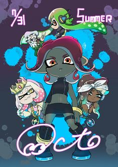 I CANT WAIT! If it's out when you read this, ignore previous sentence Video Game Art, Video Games, Nintendo Splatoon, Nintendo Games, Callie And Marie, Third Person Shooter, Pearl And Marina, Fanart, Super Mario Bros