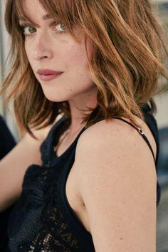 Dakota Johnson's promotional shoots for Fifty Shades, thanks to @FiftyShadesEN.