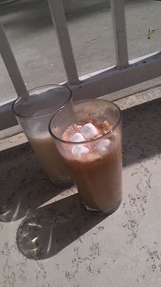 My favorite coffee drink! Chocolate Coffee Float #redcupshowdown #cbias