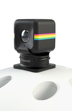 Polaroid 'CUBE' Action Camcorder Helmet Mount available at #Nordstrom