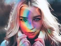 Brandon woelfel | portrait rainbow reflection cd