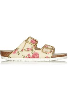 Shop now: Floral Birkenstock Sandals