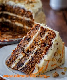 Fall Desserts, Delicious Desserts, Homemade Desserts, Fondant Cakes, Cupcake Cakes, Carrot Cake Bars, Baking Recipes, Dessert Recipes, Cooking Cake