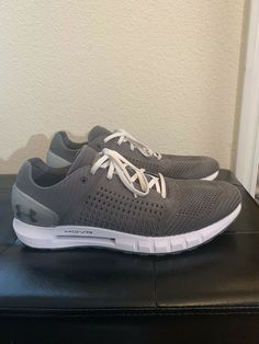 34c4d53641b94 Men s Under Armour HOVR Sonic NC Running Shoes Graphite White Sz 13   fashion