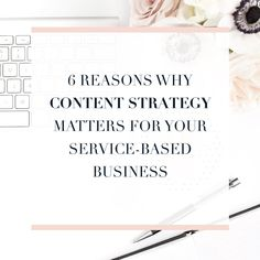 6 Reasons Why Content Strategy Matters to your Service-Based Business Branding Your Business, Business Marketing, Business Tips, Online Business, Content Marketing Tools, Social Media Marketing, Marketing Strategies, Instagram, Community