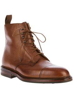 new product 13e13 4deeb CROCKETT   JONES - Coniston Lace Up Boot 1 Bruna Boots, Läder Herr,  Herrstövlar