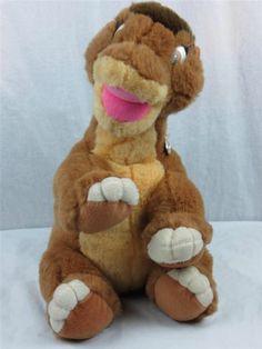 Gund The Land Before Time Little Foot 1988 Stuffed Animal Dinosaur 16 Inch   eBay