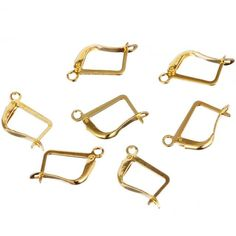 Hot Sale 12MM*16MM 30pcs/lot DIY Jewelry Accessories Material for Making Jewelry Ear Clip Free Shipping