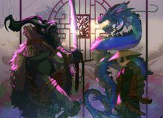 Clan of The Fist Dragon by Edgy Ziane - #instaart #instadraw #instagood #artoftheday #illustration #2d #photoshop #artist #art_spotlight #art #artist_sharing #artwork #digital #painting #digitalart #illustrations #conceptart #conceptartist #concept #design #freelance #hire #anime #manga Find more at Driva.co!