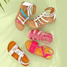 Sandálias, para menina