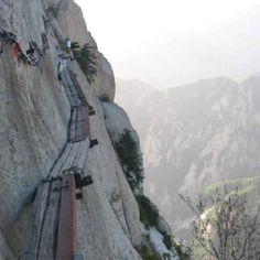 Mt. Huashan in China