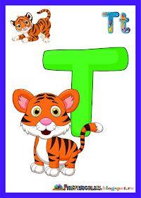 Fise de lucru - gradinita: IMAGINI pentru clasa cu TOATE Literele Math For Kids, Yoga For Kids, Alphabet Pictures, English Classroom, Animal Alphabet, Alice In Wonderland Party, Letters And Numbers, Pre School, Classroom Decor