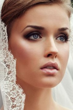 bridal make up classic vintage - Google Search