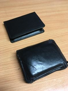 I bought the same wallet twice in 2006. One I used for 10 years the other one I saved until today.