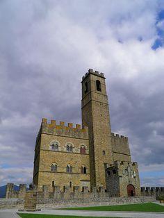 Castello di Poppi - Arezzo, Tuscany, Italy