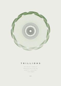 Trillions - Graphic Art Print by Derek Boateng