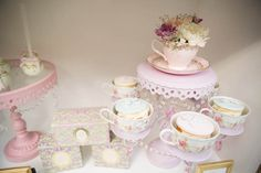 Tea set from Laduree