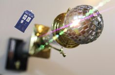 Shelf for Mirrorball Trophy with TARDIS  https://youtu.be/h5DI2iDjkRA