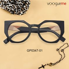 6d7a16b696af Leona Cat Eye Black Eyeglasses GP0347-01