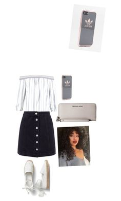 """""""Untitled #12"""" by courtneyrink on Polyvore featuring Abercrombie & Fitch, Michael Kors and adidas"""
