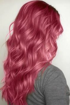 COLORFUL HAIR | Pink pastel colored hair | Cabelo fantasia rosa pastel *.* I love THIS shade it's perfect
