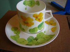 vintage Mikasa Bone China tea cup and saucer<br/>Cups & Saucers - 63525