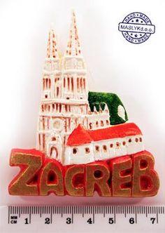 Souvenir Magnet Kaptol Zagreb image 4