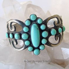 Turquoise cuff - wow!