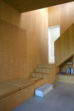 Living room of the home of Wienbergs in Højbjerg, Aarhus, Denmark by Wienberg Architecs and Friis & Moltke