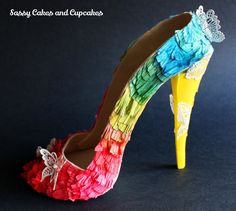 Rainbows, tassles and butterflies - Cake by Sassy Cakes and Cupcakes (Anna)