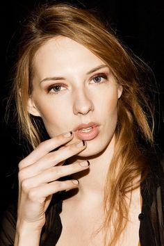 Rebecca Minkoff - dark tips Reverse French Manicure, Black French Manicure,  French Manicures, b73426f2113e