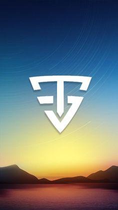 Tik Tok, Creations, Wallpapers, Shapes, Cool Stuff, Logos, Youtube, Stickers, Logo