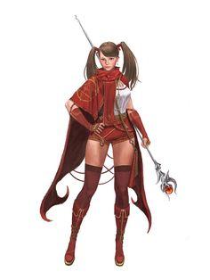 ArtStation - sorceress, yongbin lee / dylan