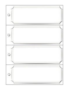 blank bookmark templates free - Free Printable Bookmarks Templates