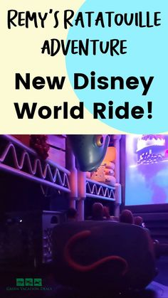 A review & video ride through of Remy's Ratatouille Adventure, the new ride in Epcot at Walt Disney World Resort in Orlando Florida. Will you & your family enjoy this ride? Is it worth it? Check out this honest review, including our expectations going into the attraction. See photos of the beautiful queueing area (where you feel like you're at Gusteau's restaurant in Paris France!). And of course see for yourself if the ride is great by watching the video. Disney World vacation planning help.
