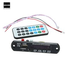 Newest Car Bluetooth MP3 WMA Decoder Board 12V Wireless Audio Module USB TF Radio Decoding board