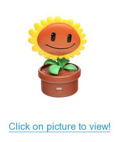 Plants vs. Zombies Electronic Singing Sunflower Geek #Toys #Other #Geeky #Toys