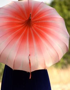 Nice ombre shading on an umbrella