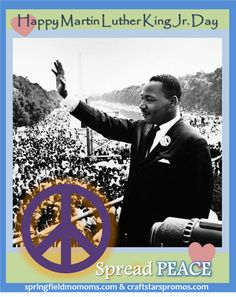 Happy MLK Jr. Day this month!!