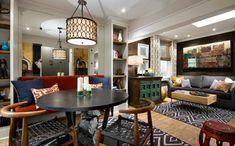 95 best arredare salotto e sala da pranzo insieme images on ...