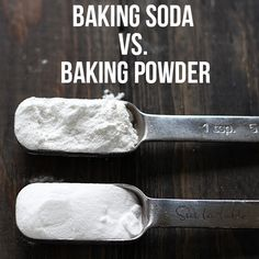 The surprising differences between Baking Soda vs. Baking Powder and how they work and affect your baking. Be a better baker by learning these fundamentals!