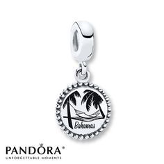 TRAVELThis Sterling Silver Dangle Charm From The PANDORA