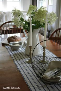 Farmhouse Rustic Tablescape
