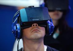 """Technology insiders who have had the chance to try Oculus Rift's virtual reality gaming headset raved about its """"incredible"""" ability to transport users to """"another world. Oculus Virtual Reality, Virtual Reality Glasses, Augmented Reality, Reality Apps, Virtual Reality Systems, Wearable Technology, New Technology, Technology Updates, Oculus Vr"""