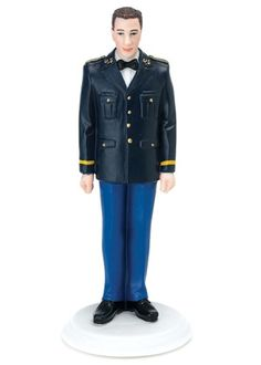 US Army Military Groom Cake Topper from Wedding Favors Unlimited
