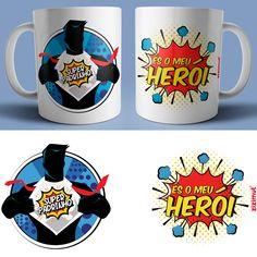 Sublimation Mugs, Mug Printing, Khaleesi, Arabic Words, Mug Designs, Pop Art, Personalized Gifts, Daddy, Banner