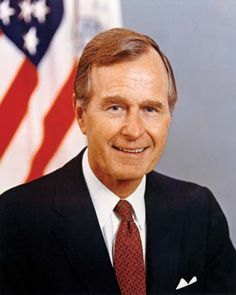 George H.W. Bush becomes the 41st President of the USA