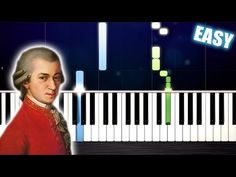 Mozart - Symphony No. 40 - EASY Piano Tutorial by PlutaX - YouTube Piano Songs, Piano Music, Piano Tutorial, Easy Piano, Piano Sheet, Happy Life, Learning, Youtube, Musical Instruments
