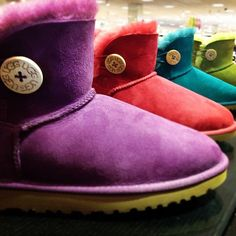 UGG® Australia 'Mini Bailey' Button Boot #Nordstrom via Instagram (@k_poz)